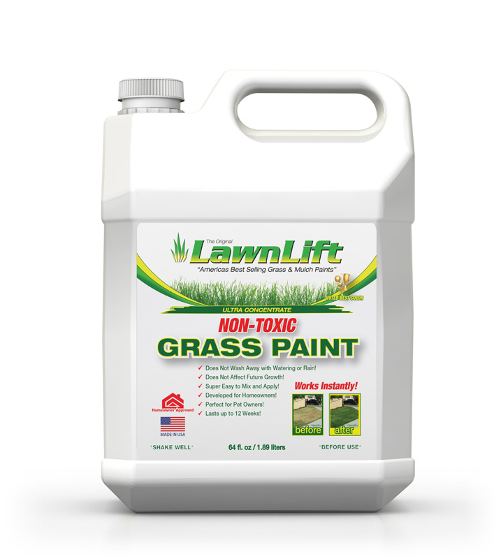 Lawnlift america 39 s best selling grass paint for Americas best paint